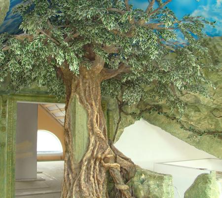 Как сделать большое дерево своими руками 66